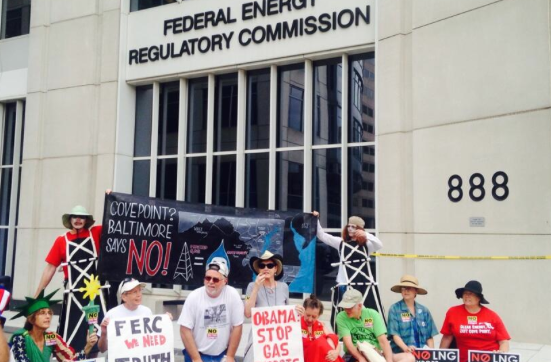 Stop Cove Point! July 14, 2014 at FERC